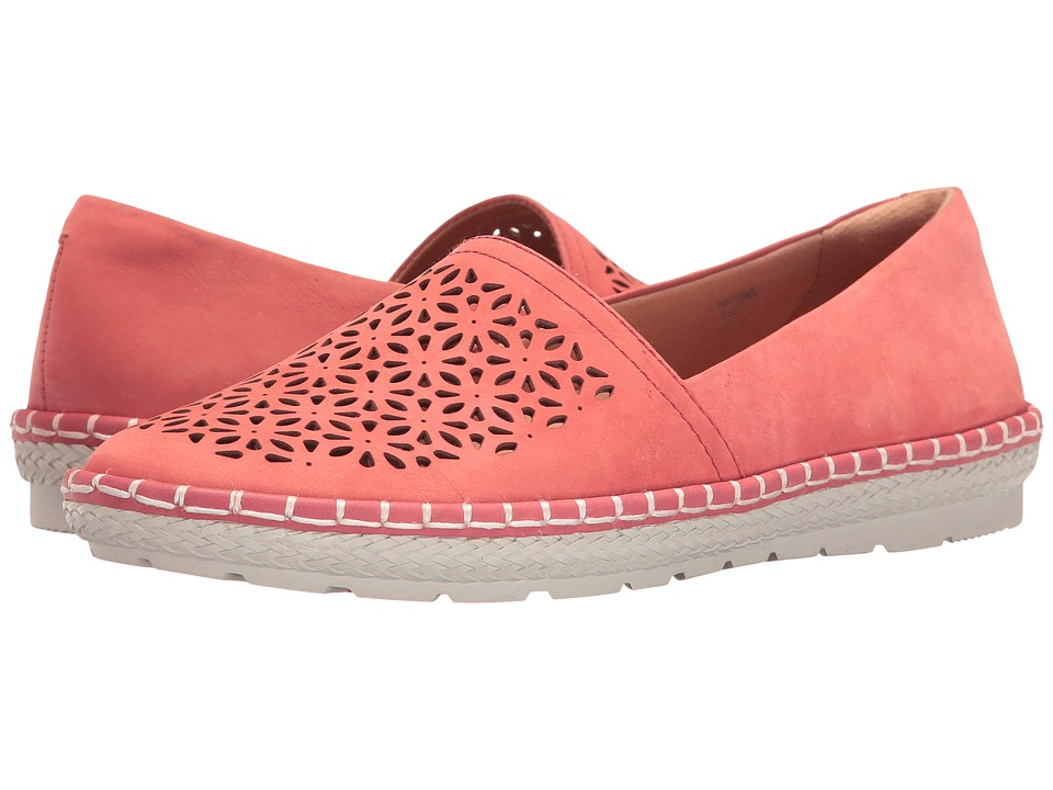 Earth - Artemis (Coral Soft Buck) Women's Shoes