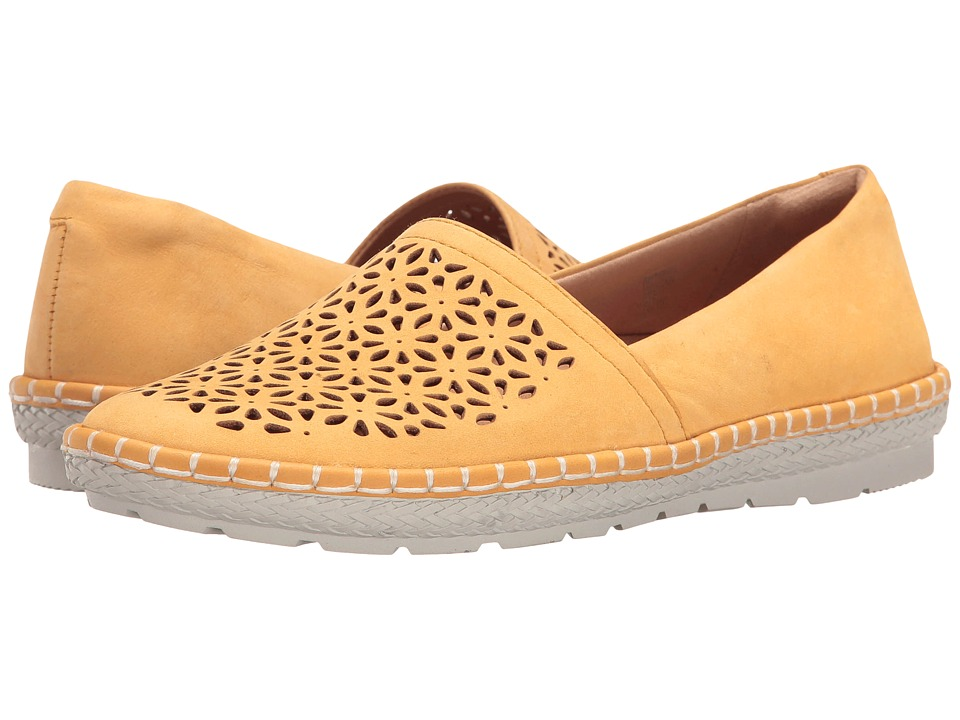 Earth - Artemis (Yellow Soft Buck) Women's Shoes