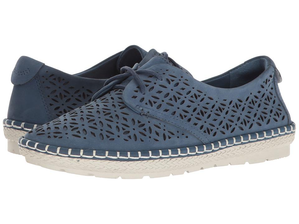 Earth - Pax (Sapphire Blue Soft Buck) Women's Shoes
