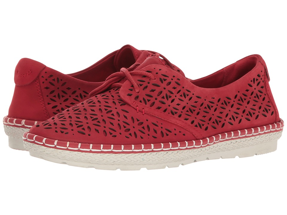 Earth - Pax (Bright Red Soft Buck) Women's Shoes
