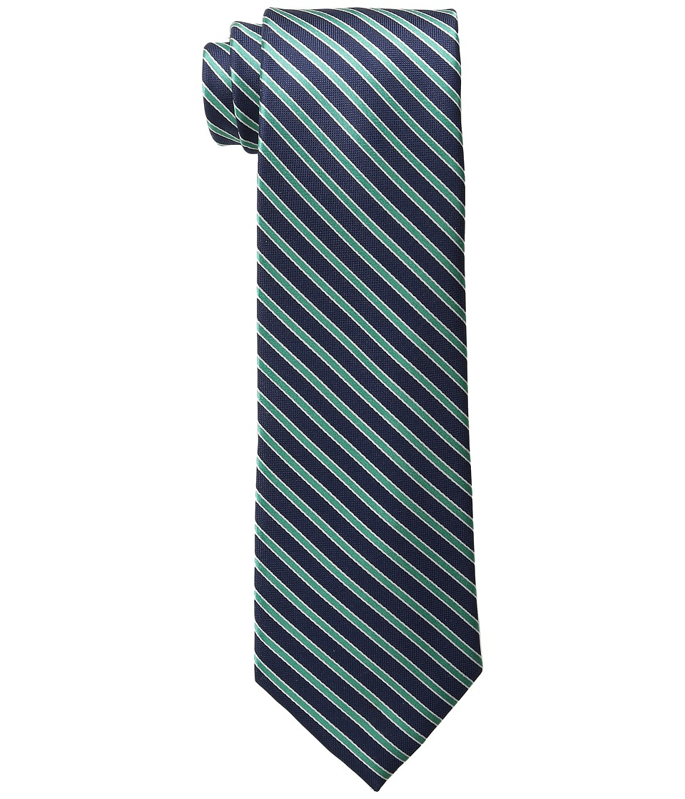 Tommy Hilfiger - Small Stripe (Green) Ties