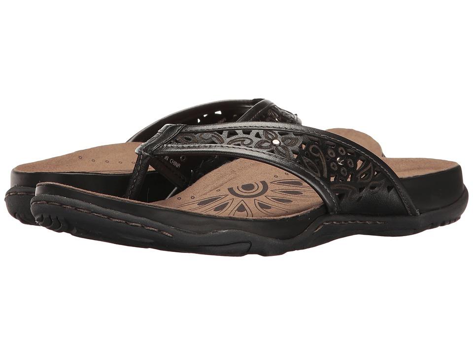 Earth - Maya (Black Soft Leather) Women's Shoes