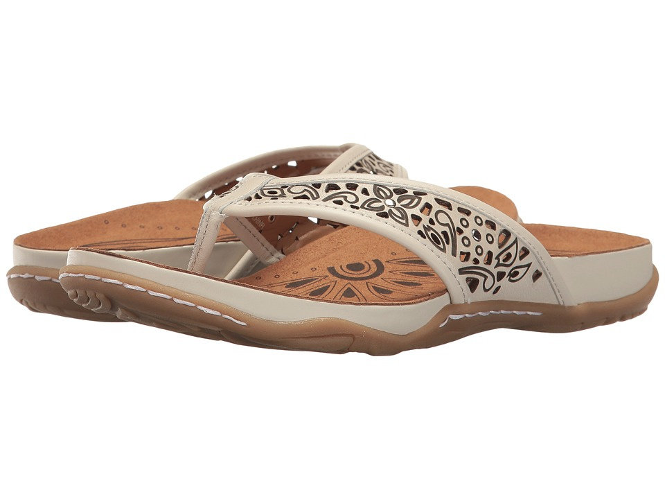 Earth - Maya (Off-White Soft Leather) Women's Shoes