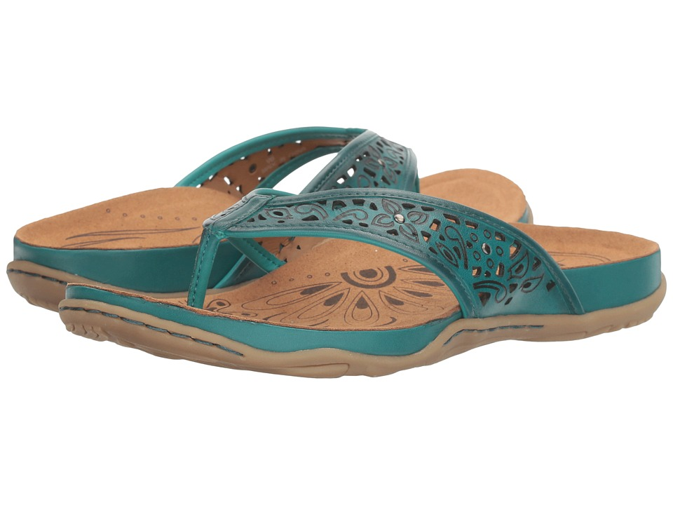 Earth - Maya (Teal Soft Leather) Women's Shoes