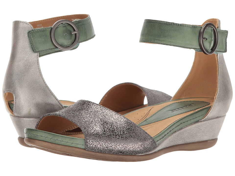 Earth - Hera (Pewter Metallic Leather) Women's Shoes