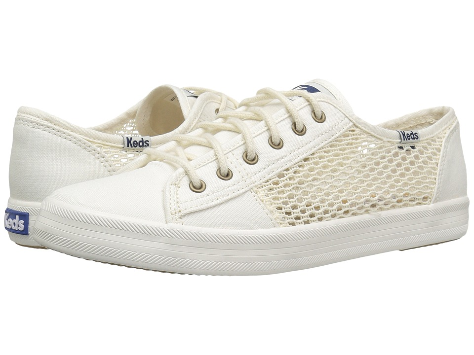 Keds - Kickstart Crochet (Cream) Women's Shoes