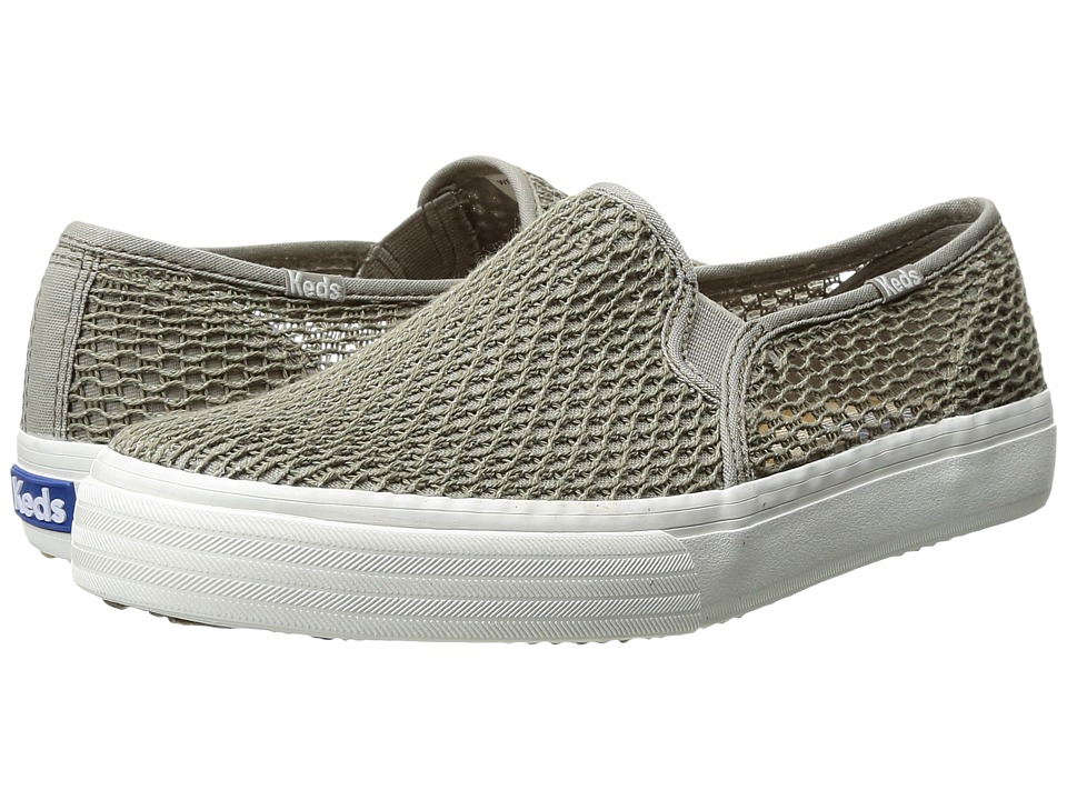 Keds - Double Decker Crochet (Khaki) Women's Shoes