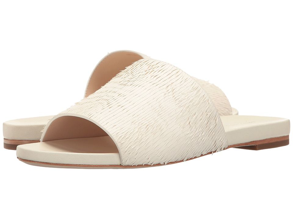 Loeffler Randall Ava (Ivory Fringed Leather) Women