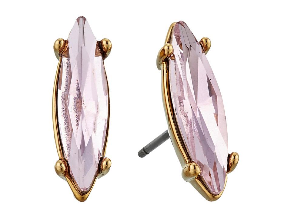 Rebecca Minkoff - Sparkler Stud Earrings (Gold/Rose) Earring