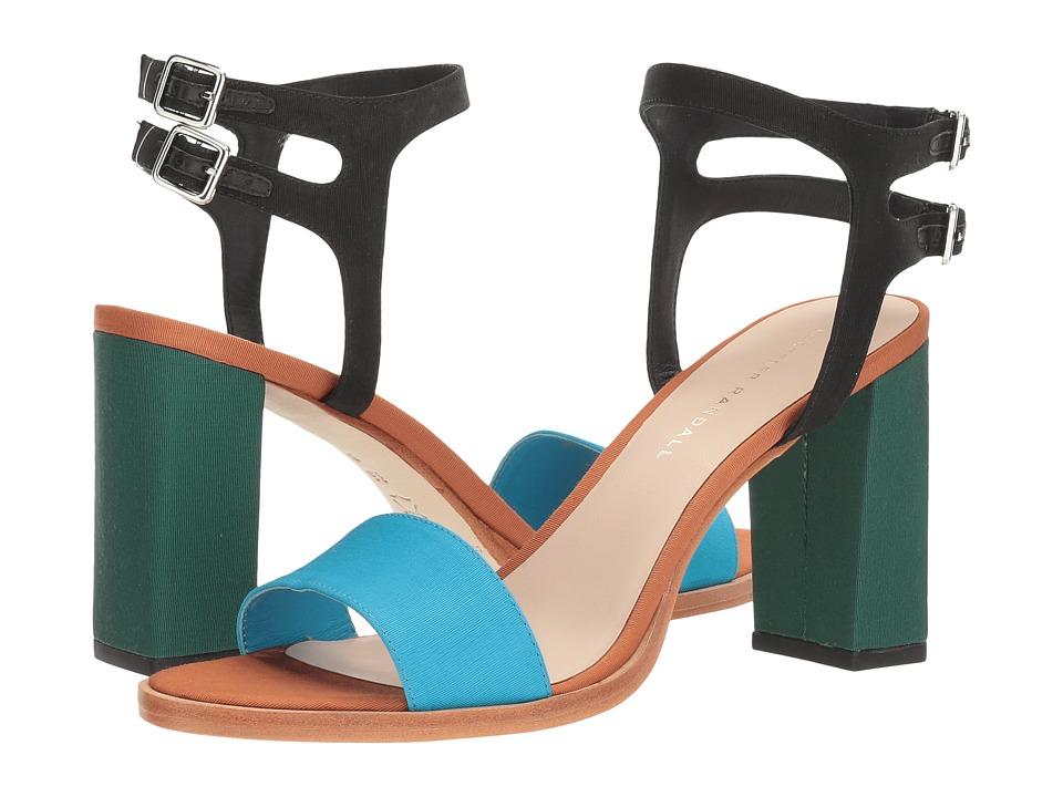 Loeffler Randall - Sylvia (Aqua Multi Faille) Women's Shoes