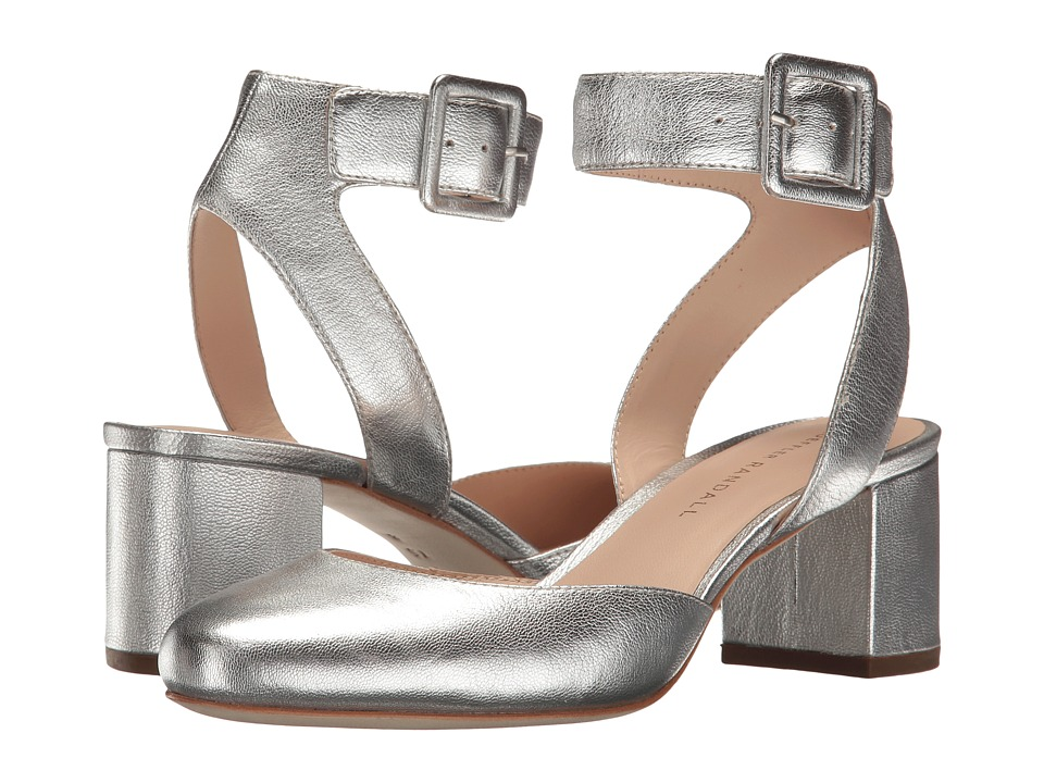 Loeffler Randall - Cami (Silver Leather) Women's Shoes
