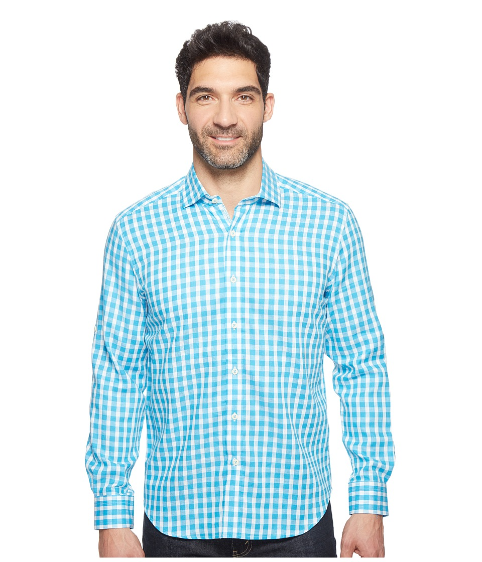 Robert Graham - Modern Americana Freddie Shirt (Light Blue) Men's Clothing