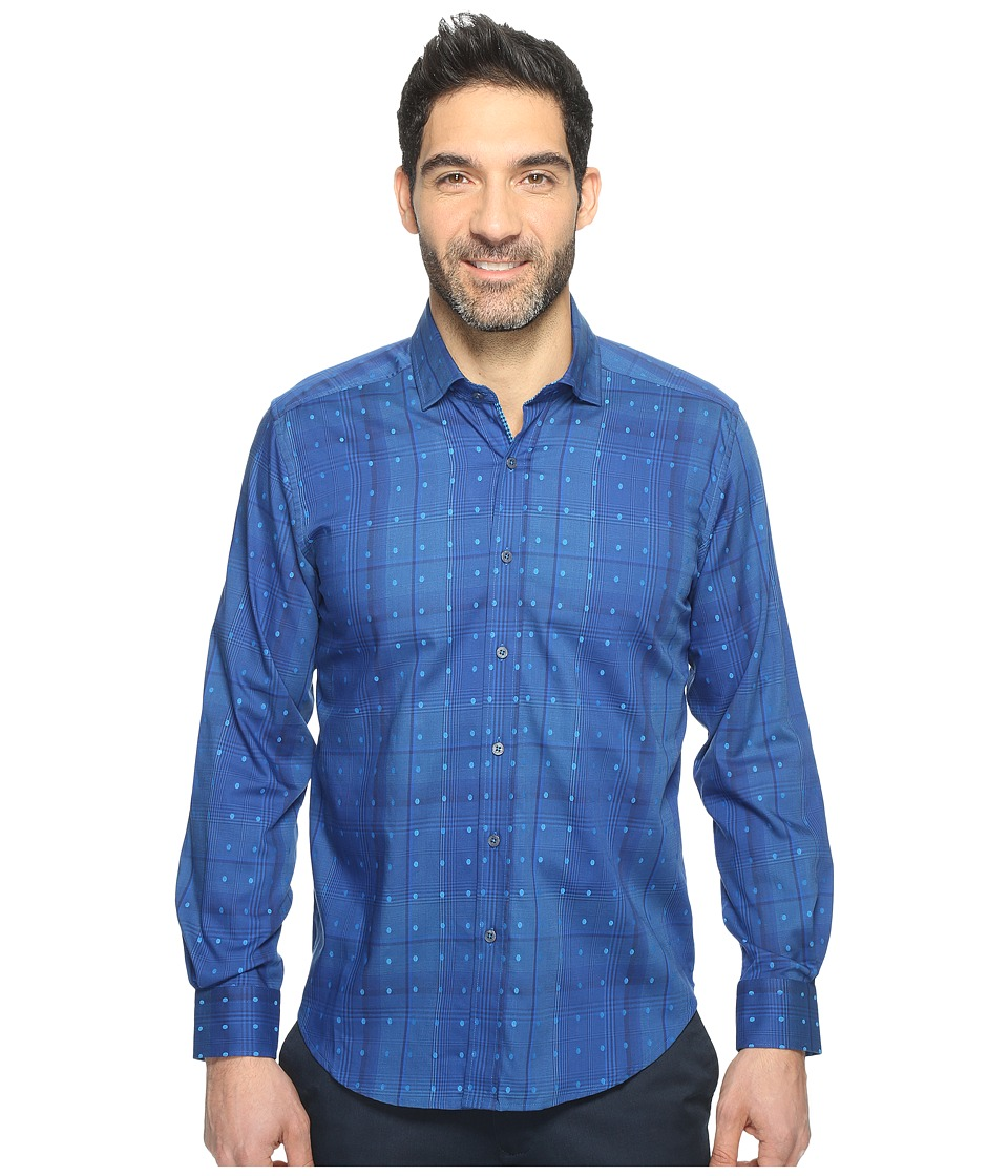 Robert Graham - Modern Americana Pete Shirt (Navy) Men's Clothing