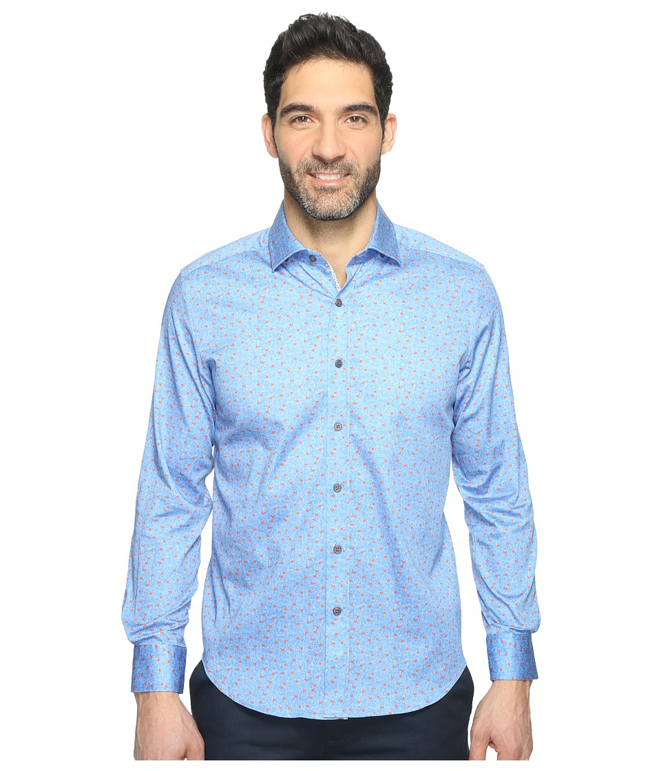Robert Graham - Zander Shirt (Blue) Men's Clothing