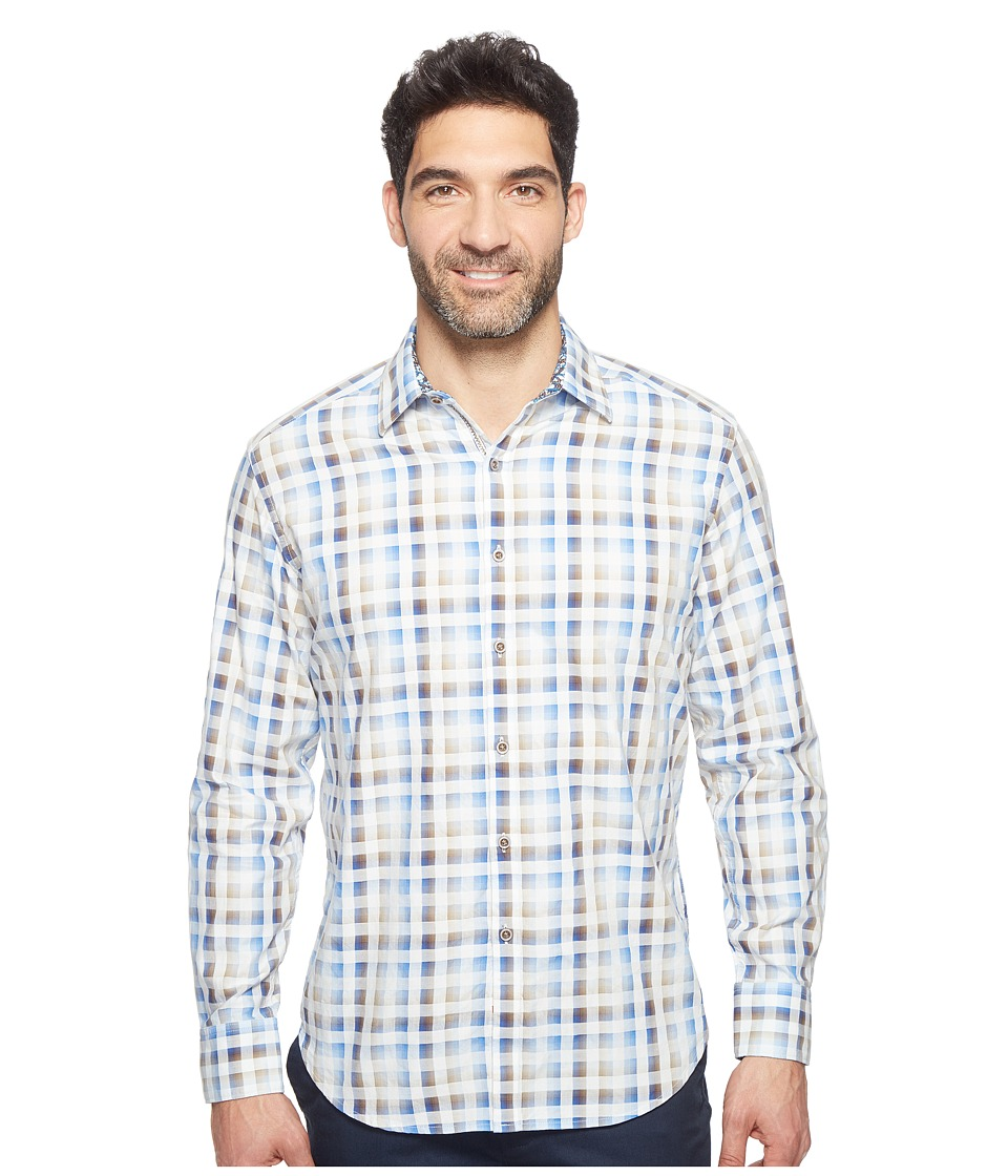 Robert Graham - Dewan Shirt (Blue) Men's Clothing