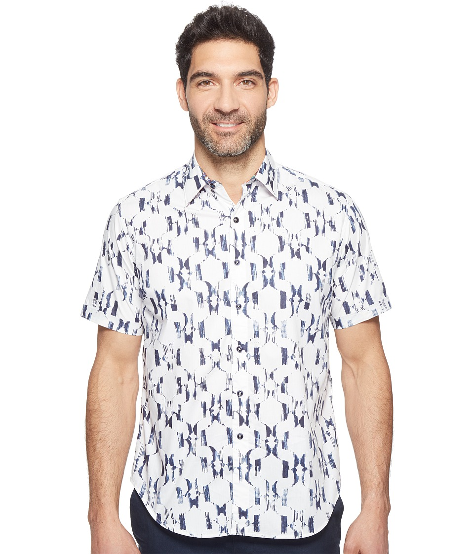 Robert Graham - Parsis Shirt (White) Men's Clothing