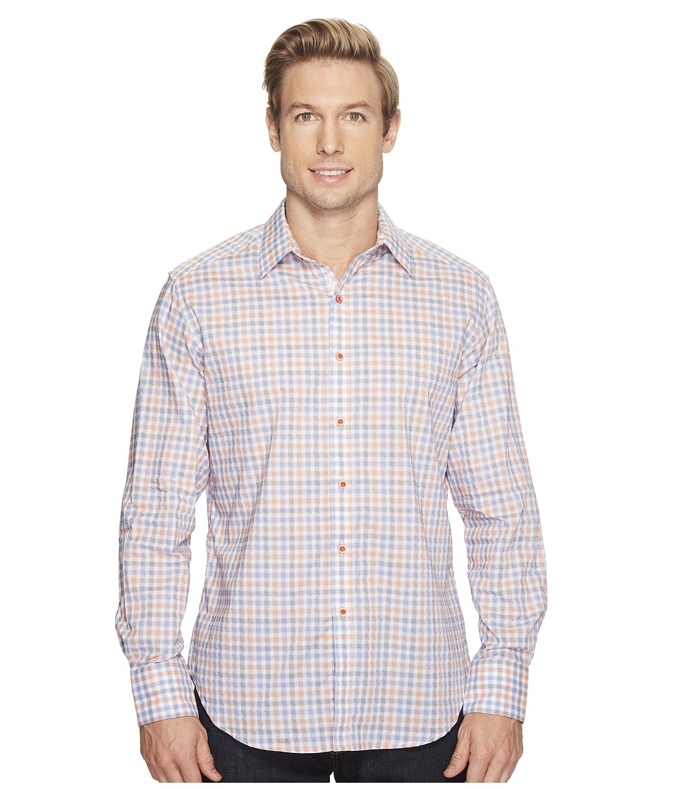 Robert Graham - Rohan Shirt (Orange) Men's Clothing