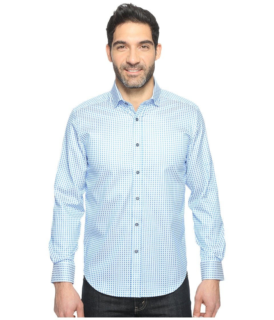 Robert Graham - Modern Americana Brennen Shirt (Blue) Men's Clothing
