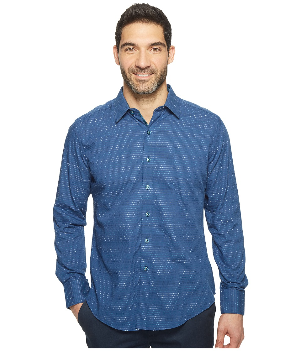 Robert Graham - Dev Shirt (Navy) Men's Clothing
