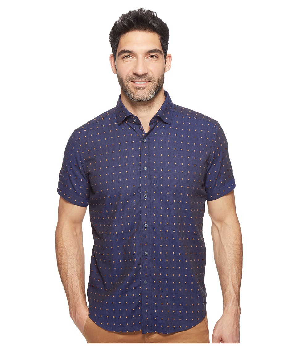Robert Graham - Modern Americana Drake Shirt (Navy) Men's Clothing