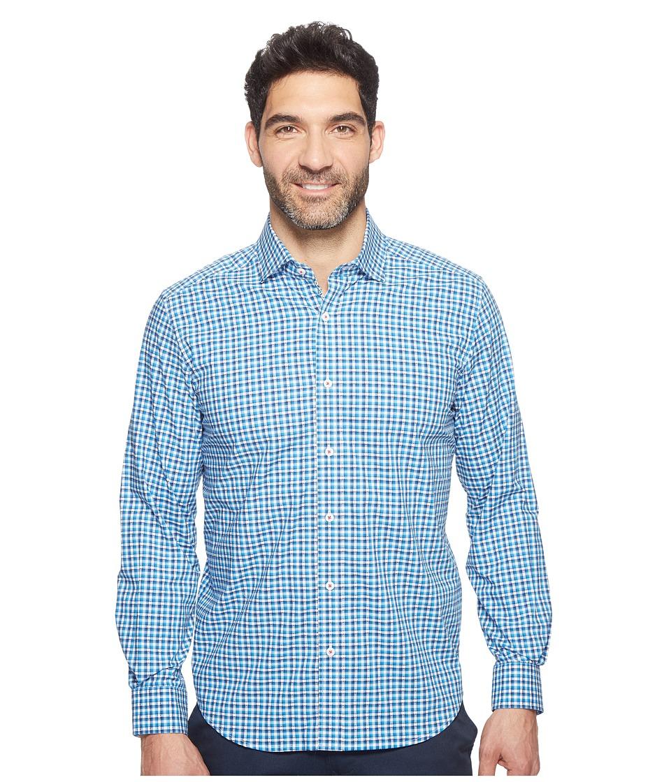 Robert Graham - Modern Americana Colbie Shirt (Cobalt) Men's Clothing