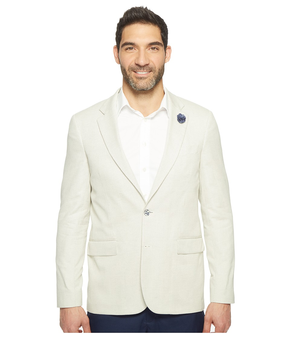 Robert Graham - Cape Common Jacket (White) Men's Coat
