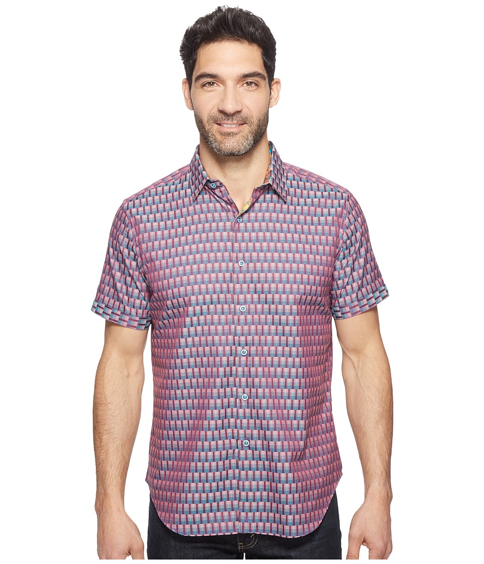 Robert Graham - Jai Shirt (Berry) Men's Clothing