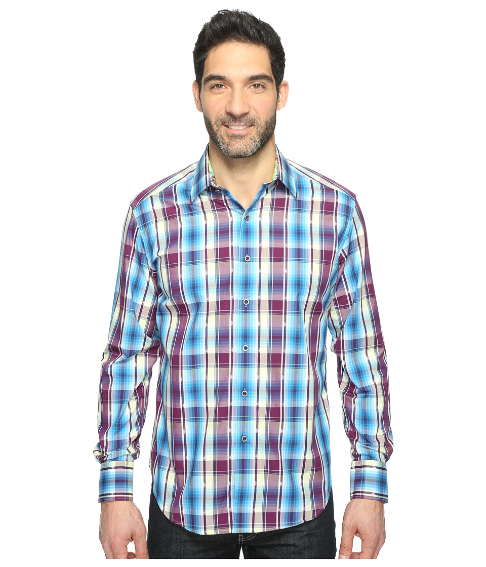 Robert Graham - Hiran Shirt (Purple) Men's Clothing