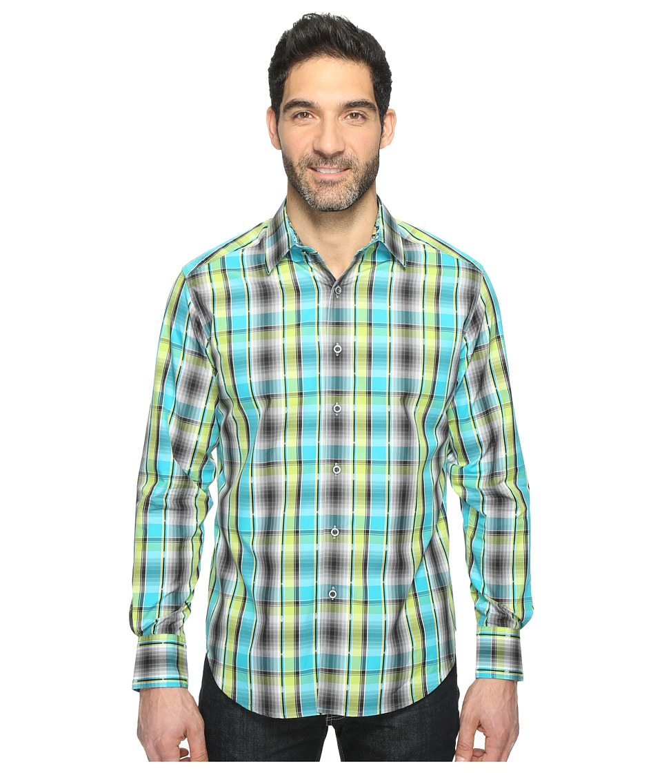 Robert Graham - Hiran Shirt (Lime) Men's Clothing