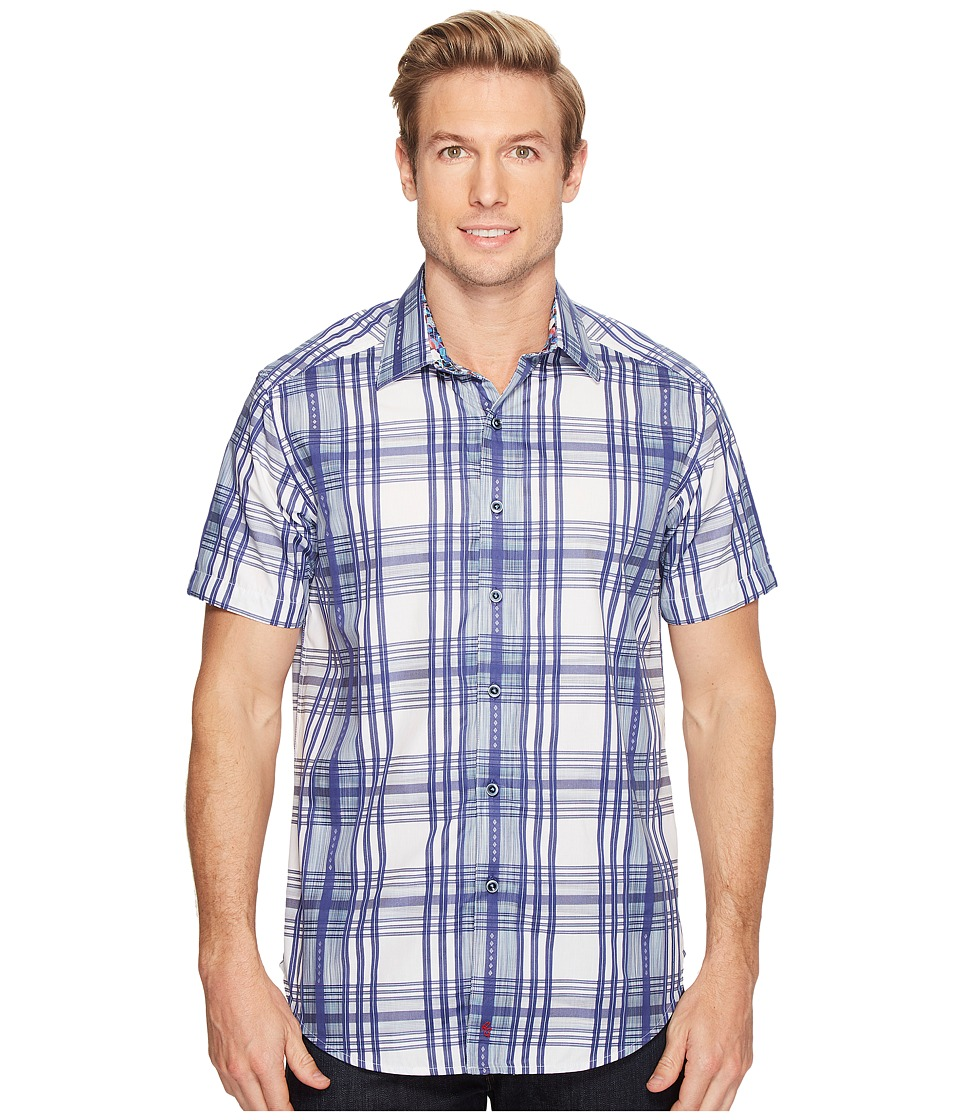 Robert Graham - East Timor Shirt (Blue) Men's Clothing