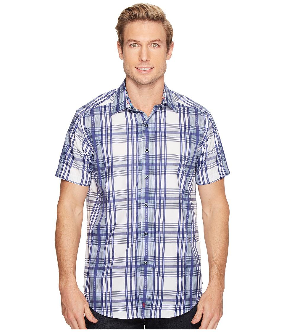 Robert Graham - East Timor Shirt (Blue) Men's Clothing