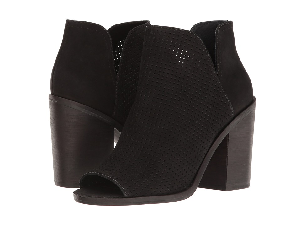 Steve Madden - Tala (Black Nubuck) Women's Shoes