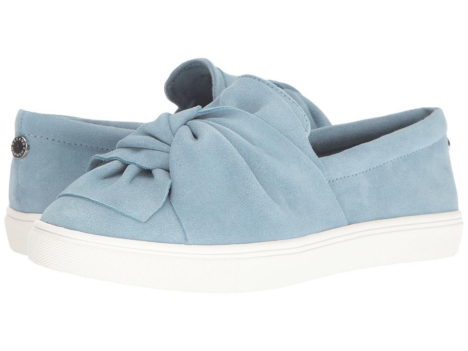 Steve Madden - Knotty (Blue Suede) Women's Shoes