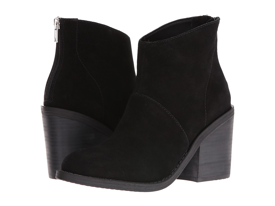 Steve Madden - Shrines (Black Suede) Women's Boots