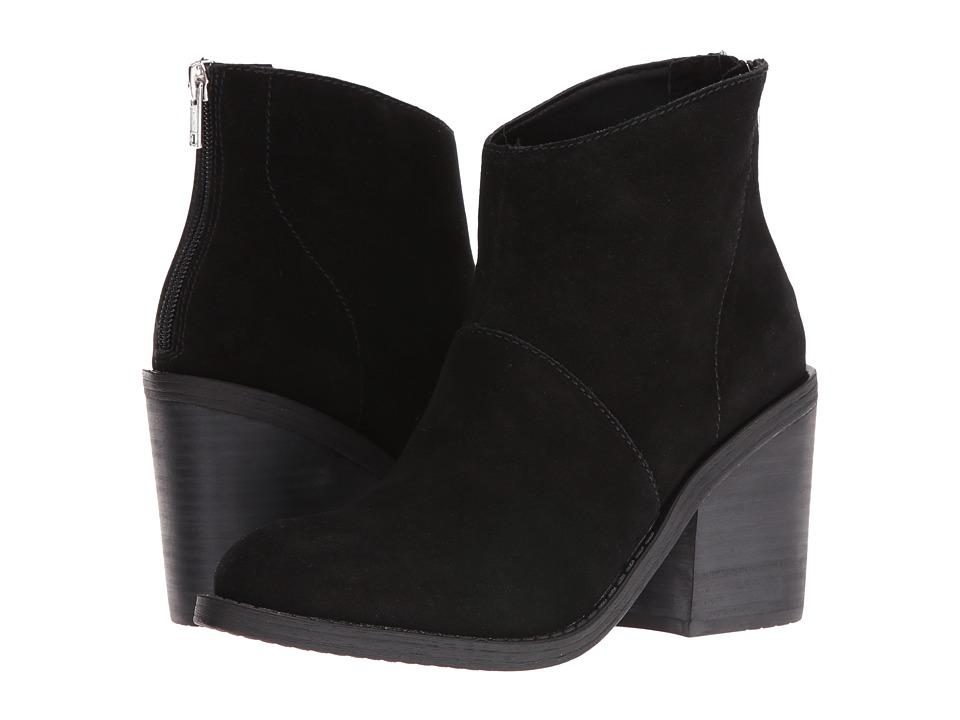 Steve Madden - Shrines (Black Suede) Women's Boots