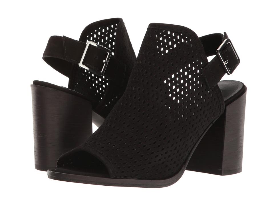 Steve Madden - Neptune (Black Nubuck) Women's Shoes