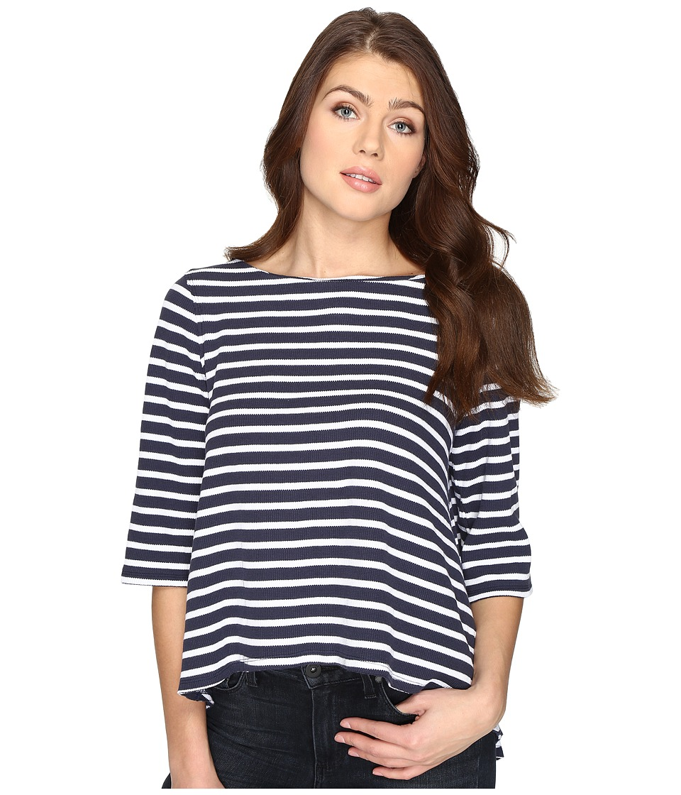 Free People - Cannes Tee (Navy) Women's Clothing