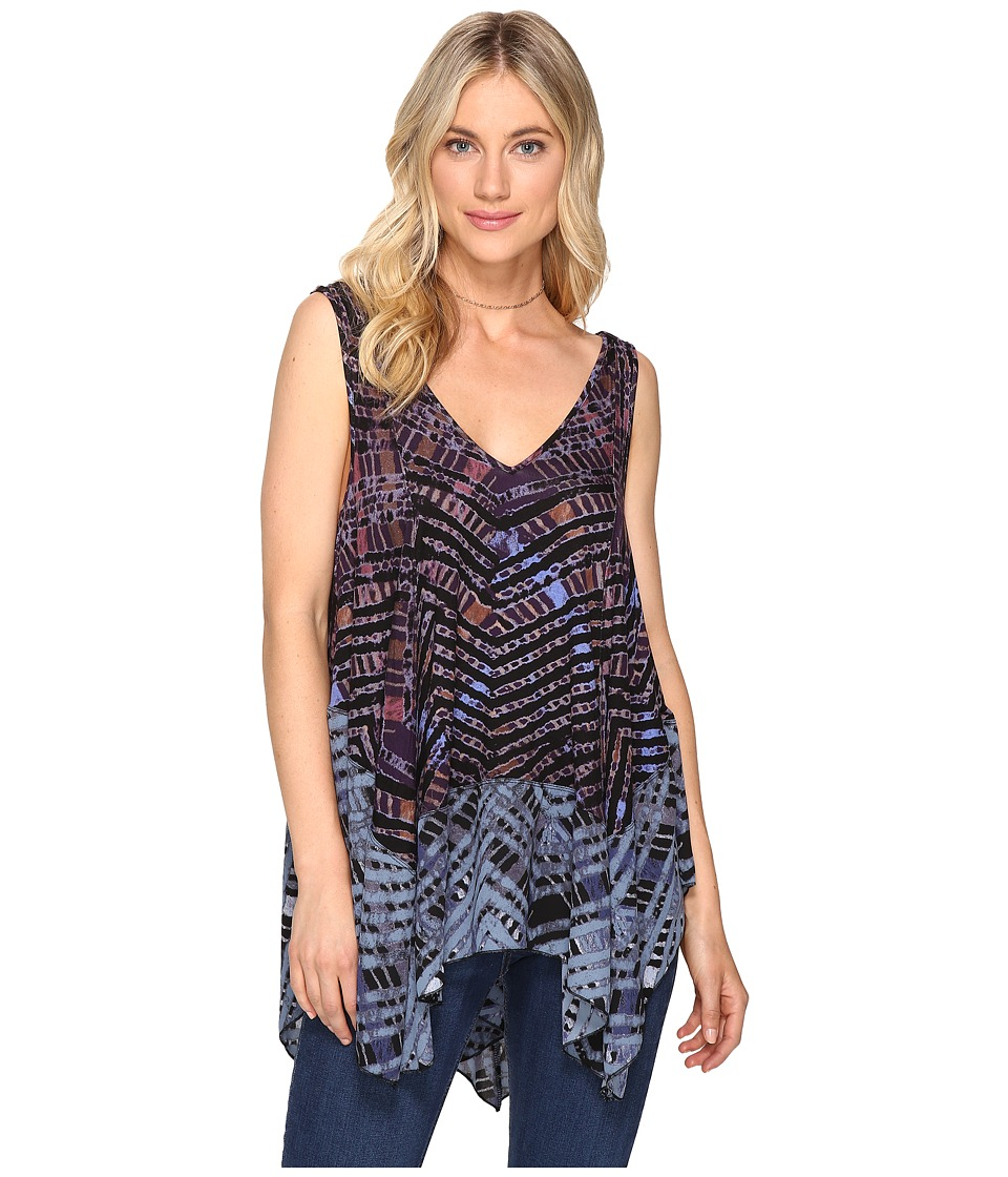 Free People - Day Dreamers Tank Top (Navy) Women's Sleeveless
