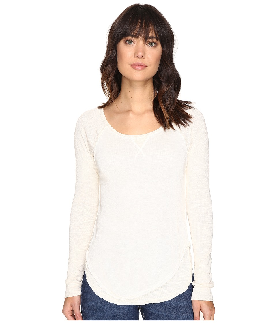 Free People - Friday Feelin Tee (Cream) Women's Clothing
