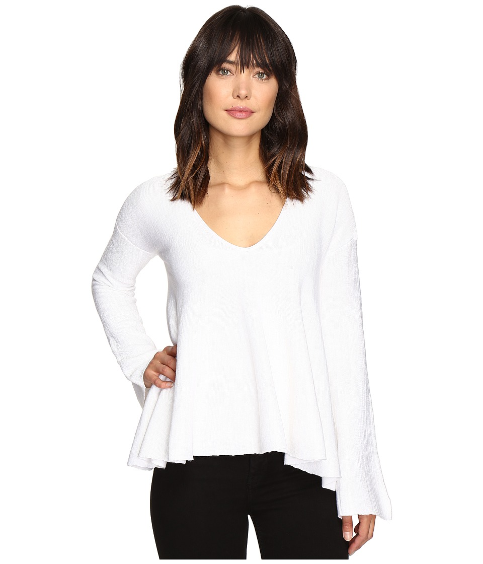 Free People - Sundae Pullover Sweater (White) Women's Sweater