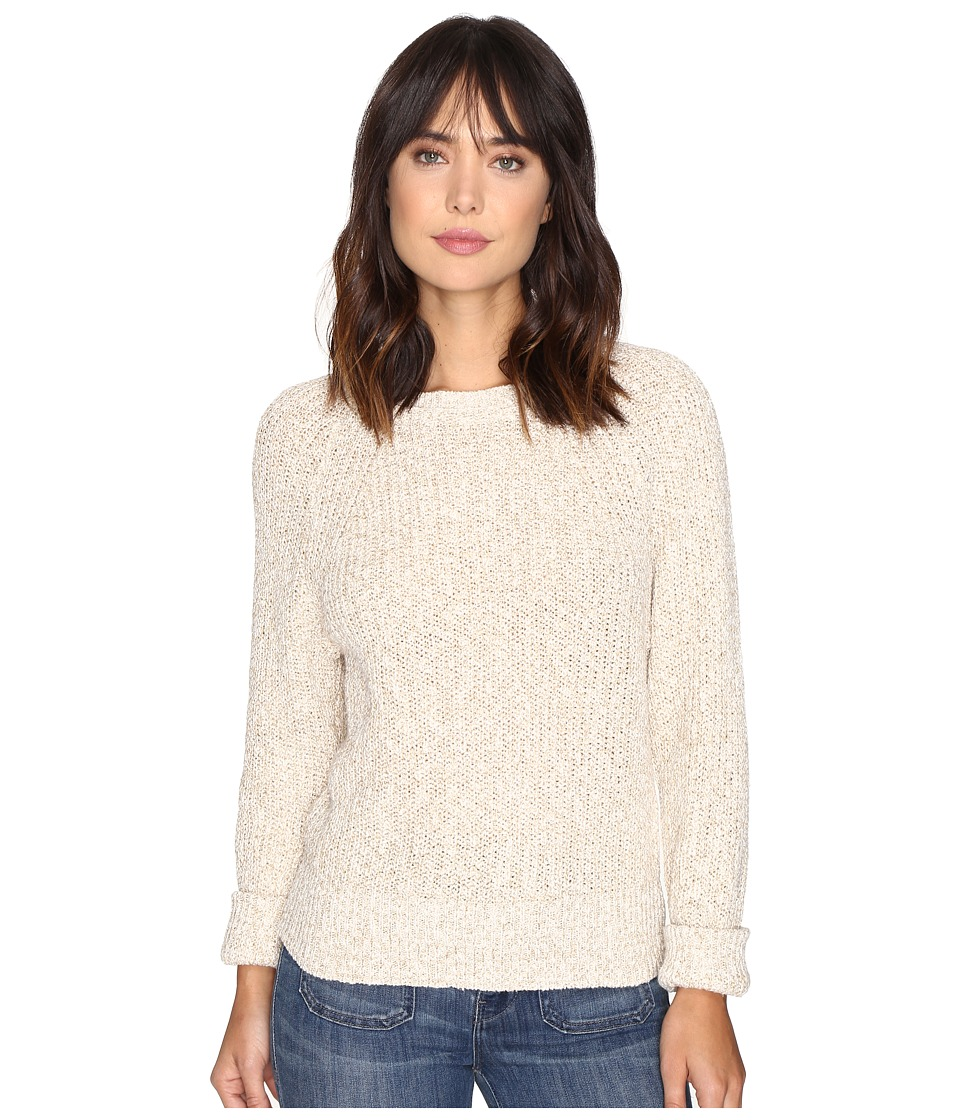Free People - Electric City Pullover Sweater (White) Women's Sweater
