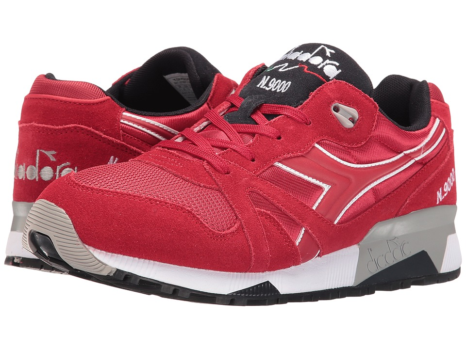 Diadora - N9000 NYL II (Chili Pepper/Nine Iron) Men's Shoes