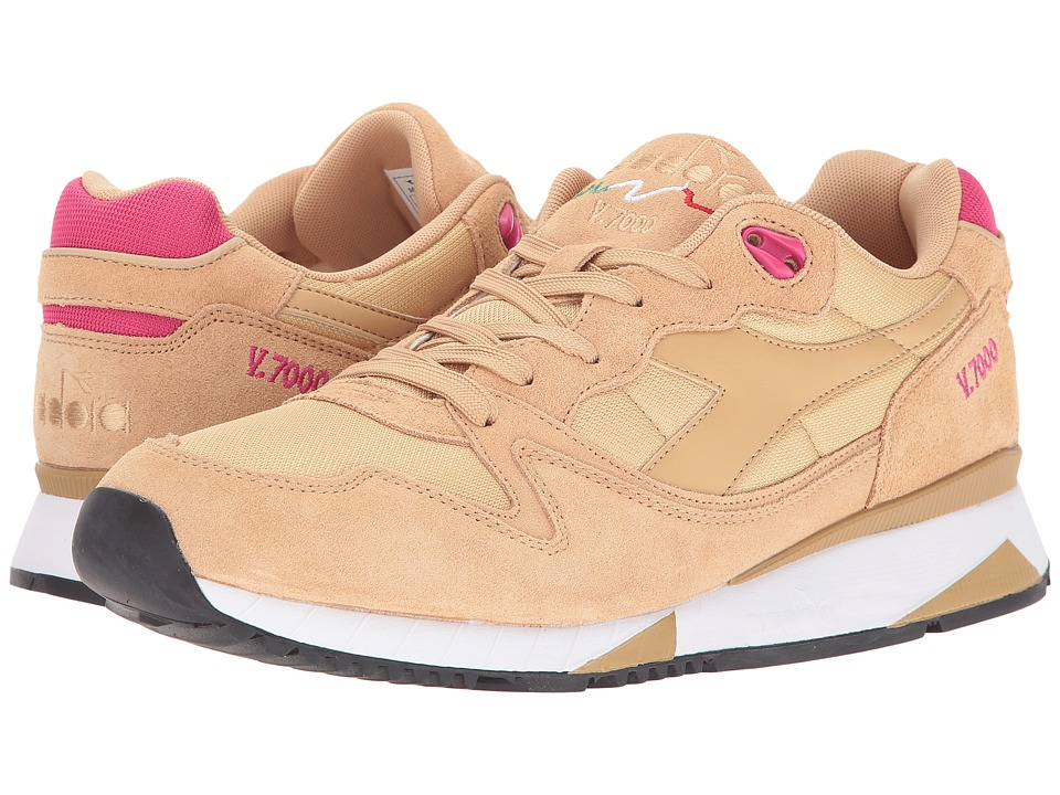 Diadora V7000 NYL II (Sandt/Bright Rose) Men