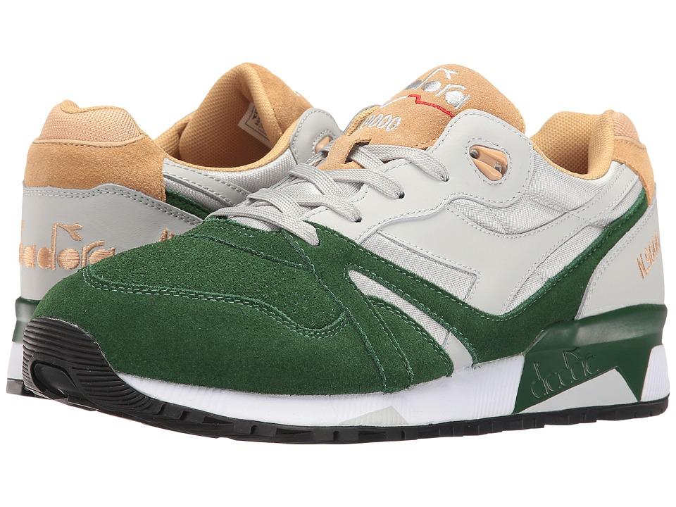 Diadora - N9000 Double L (Gray Violet/Greener Past/Sand) Men's Shoes