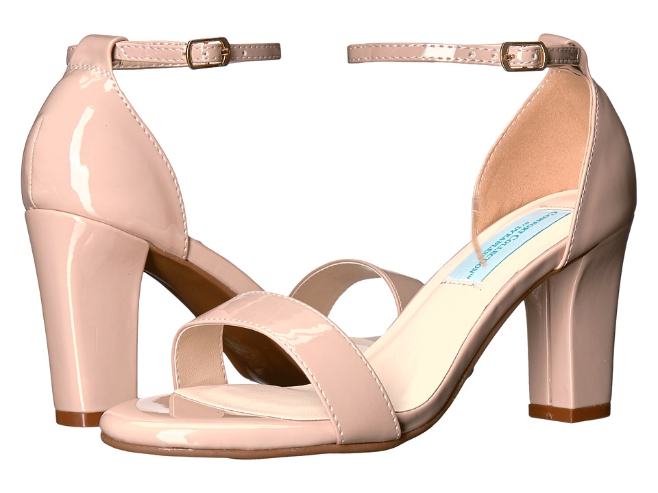 Touch Ups - Maddox by Dyeables (Nude Patent) Women's Shoes