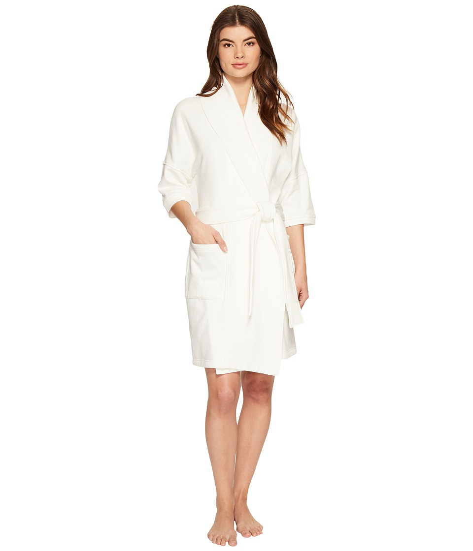 UGG - Aline Short Robe (Cream) Women's Robe
