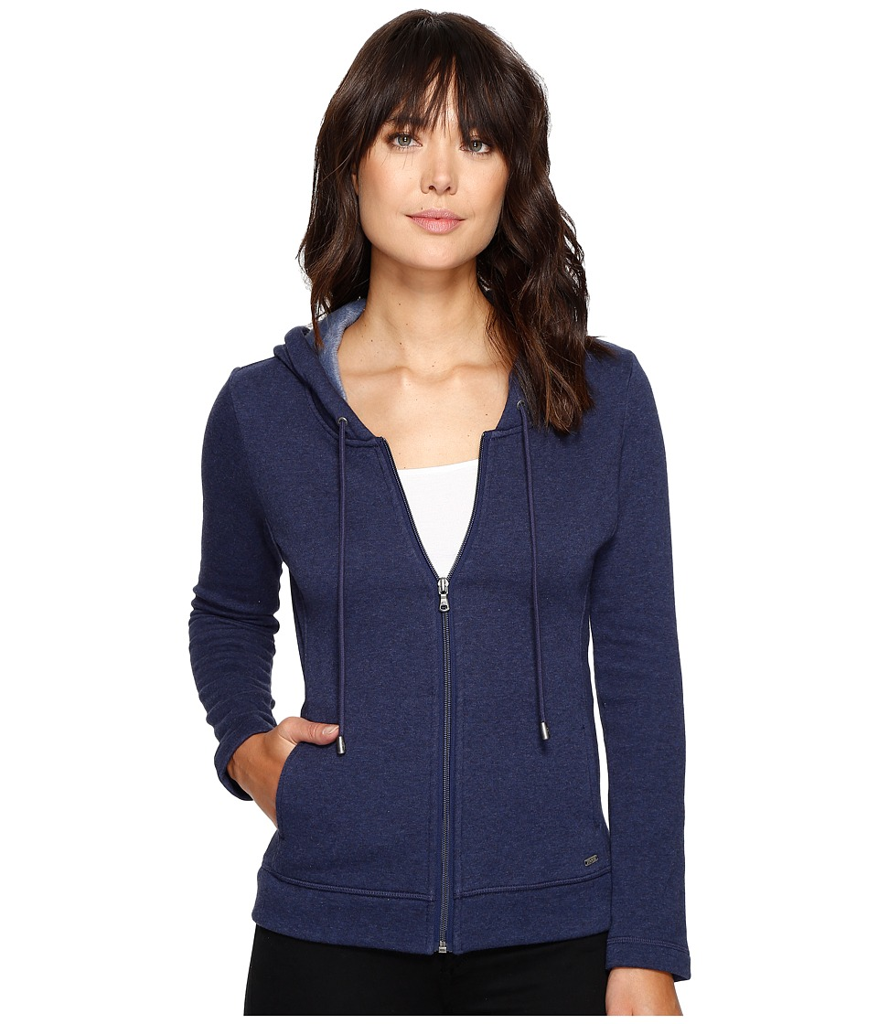 UGG - Sarasee Hoodie (Navy Heather) Women's Fleece