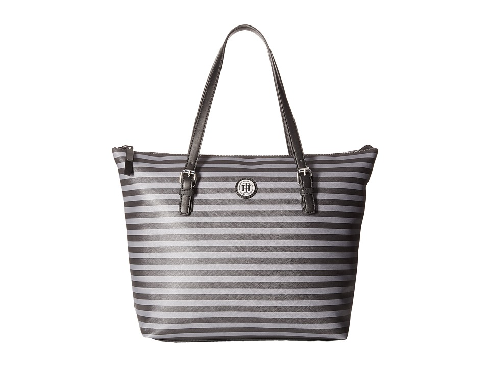 Tommy Hilfiger - Willow II Tote (Gray Tonal) Tote Handbags