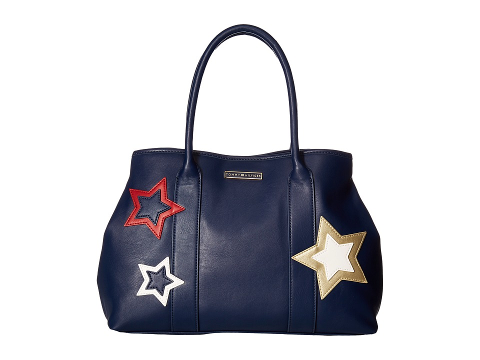 Tommy Hilfiger - Aurora Tote (Tommy Navy) Tote Handbags