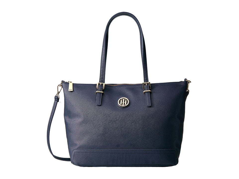 Tommy Hilfiger - Honey Convertible Tote (Tommy Navy) Tote Handbags